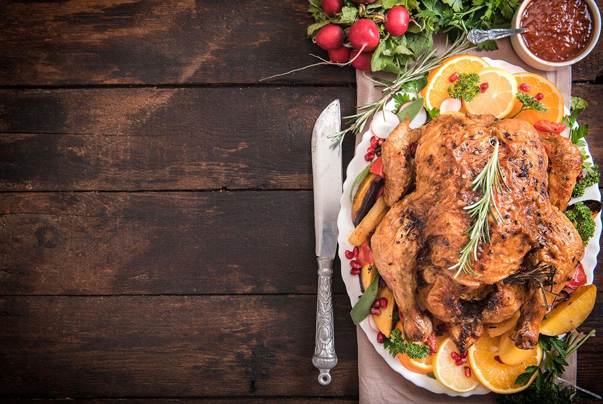 Thanksgiving turkey order